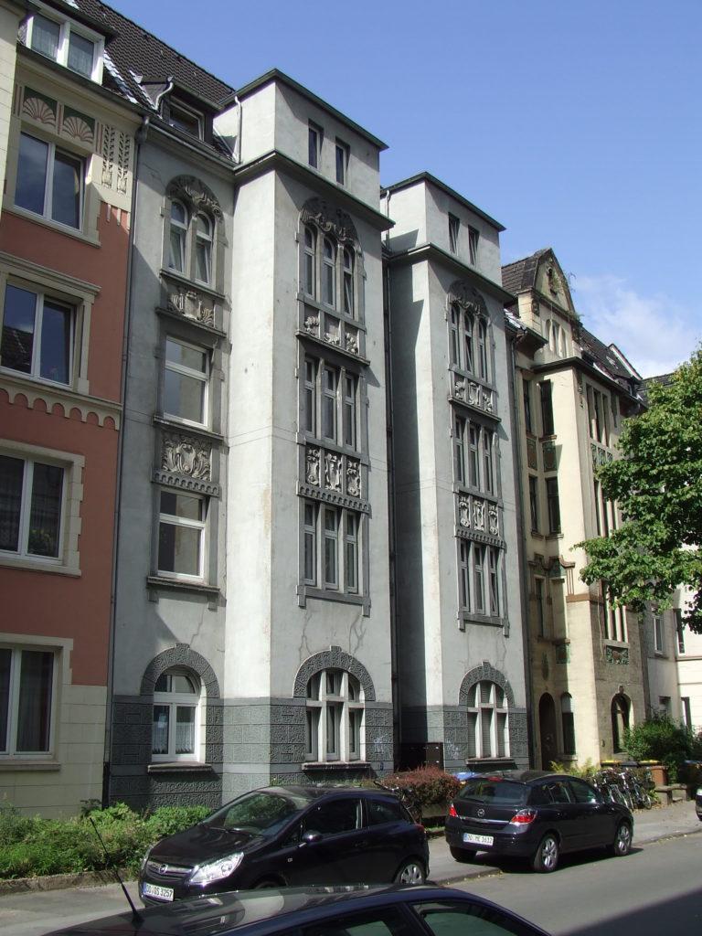 Fächerstraße 5 - vorher